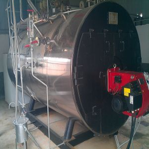 Horizontal 3pass Wet Back Fire Tube Steam Boiler (WNS2)
