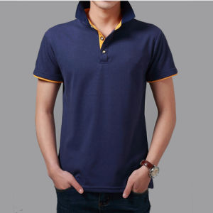 2017 Summer Plain CVC60/40 Polo Shirts for Men, Polo T-Shirt pictures & photos