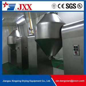 High Quality Double Cone Rotary Vacuum Dryer for Chemical Materials pictures & photos