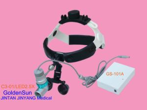 Medical Surgical Portable Rechargeable LED Headlight Loupes pictures & photos