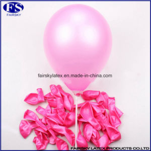 Assorted Color Latex Balloon 10 Inch for Wedding Decoration Party Pearl Balloon pictures & photos