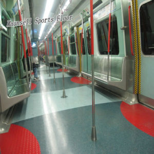 Cheap PVC/Homogeneous Flooring for Airport/Subway/Office pictures & photos