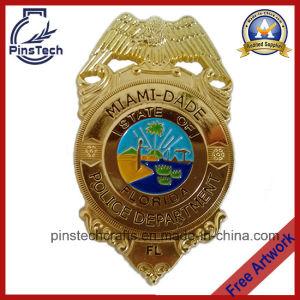 Custom Miami Date Police Department Badge, Fl Police Badge pictures & photos