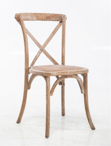 Stone Finish X-Back Stackable Chairs