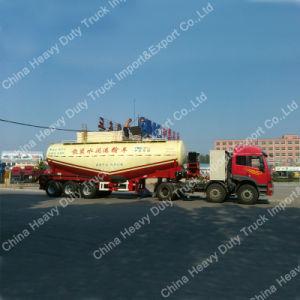 3 Axle Bulk Cement Trailer 12m3 for Uganda pictures & photos