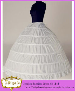 Long White Wedding Ball Gown Petticoats (MI 3570)
