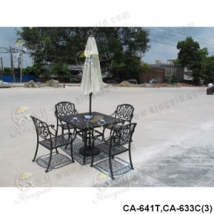 Cast Aluminium Furniture, Outdoor Furniture Ca-641t, Ca-633c pictures & photos