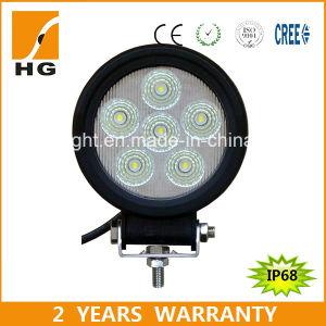 Super Bright 6PCS*3W 18W 4.6inch LED Work Spot Light pictures & photos