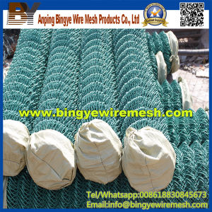 Cheap Price Black Chain Link Fence Roll pictures & photos