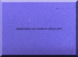 Pure Purple Artificial Quartz Stone Color Slabs pictures & photos