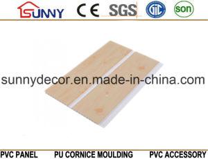 Wood Plastic Ceiling Design PVC Interior Decorative Wall Panels, Cielo Raso De PVC pictures & photos