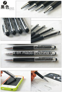Stylus Ball Pen with Crystal pictures & photos