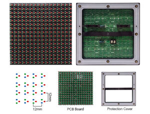 DIP P12 Outdoor Full Color LED Module pictures & photos