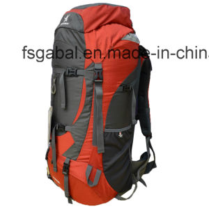 80L Mountian Gear Camping Hiking Pack Travel Bag Backpack with Adjustable Back pictures & photos