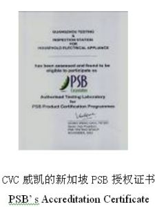 PSB Testing and Certification