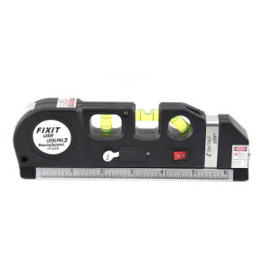 Green Cheap Laser Level with Measuring Tape LV03-2