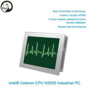 China OEM Computer Baytrail Processor 10.4 Inch LCD From China All in One Touch Screen Panel PC Made in China pictures & photos