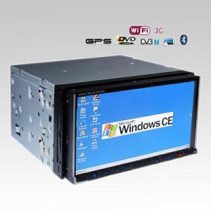 7 Inch Car DVD Player With 3G WiFi Internet and DVB-T Car PC Vdd74gd