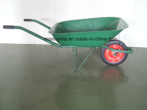 Maxtop   Hand Trolley Hand Truck Wheelbarrow Wheel Barrow  for Nigeria & Brazil Market (WB6500) pictures & photos
