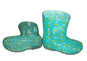 PVC Rain Boots for Children (JK46522) pictures & photos