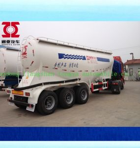 Cement Powder Transport Tanker Semi Truck Trailer for Sale pictures & photos