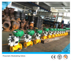 4-20mA Pneumatic Globe Type Modulating Valves pictures & photos
