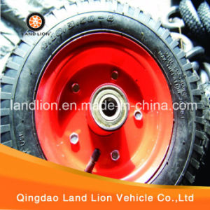 Both Side Pneumatic Rubber Wheel 4.10/3.50-6 pictures & photos