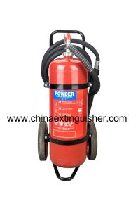 Trolley Dry powder fire extinguisher pictures & photos