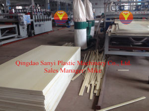 PVC Building Templete Foam Board Extrusion Line pictures & photos