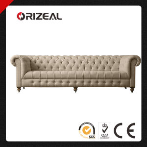 Chesterfield Living Room Furniture Cambridge Upholstered Sofa pictures & photos