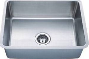 Sanitary Ware Hot Sale 304 Stainless Steel Kitchen Sink (KUS2318-N) pictures & photos