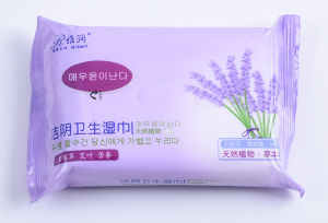 Women Usage Cleaning Care Wet Tissue Wet Wipes pictures & photos