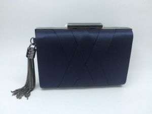 Silk Woven Clutch Bag, Fashion Evingbag pictures & photos