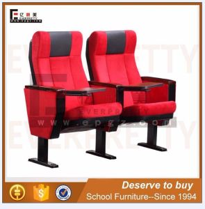 Modern Theater Furniture Folding Theater Auditorium Chair with Tablet (AC-02) pictures & photos