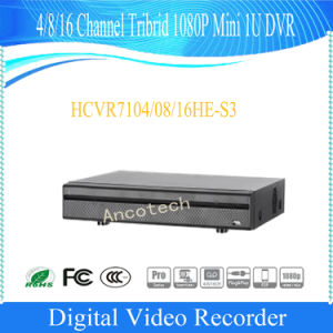 Dahua 4 Channel Tribrid 1080P Mini 1u Security DVR (HCVR7104HE-S3) pictures & photos