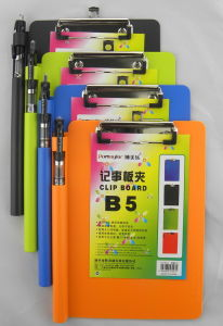 B5 Clip Board with Pen Holder (CB123)