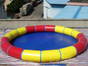 PVC Laminated Fabric for Circular Pool