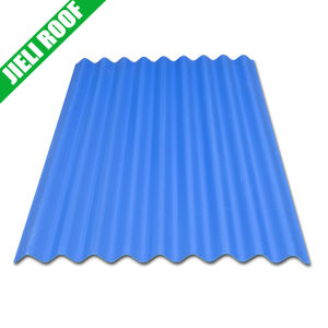 Anti-Corrosion Small Wave PVC Roof Sheet pictures & photos
