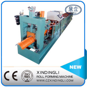 Galvanized Steel Roof Ridge Cap Roll Forming Machine pictures & photos
