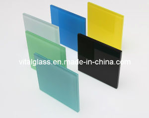 Blue/Grey/Green/Bronze Float Glass Stained/Tinted Float Glass for Building Glass pictures & photos