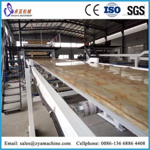 China Supplier PVC Artificial Marble Board Machine pictures & photos