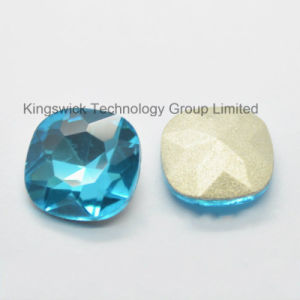 Aquamarine Square Crystal Fancy Stones pictures & photos