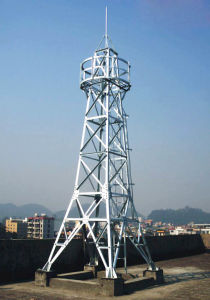 Power High Quality Steel Tube Transmission Tower pictures & photos