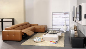 Living Room Sofa with Modern Genuine Leather Sofa Set (426) pictures & photos