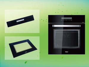 3-10mm Tempered Printing Glass Panel for Oven Door (kitchen appliance) pictures & photos