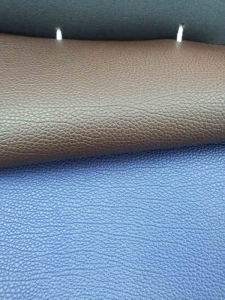 PVC Artificial Leather for Car Seat Cover