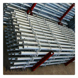 Q345 Q235 Galvanized Steel Multidirectional Rosette Layher Ringlock Scaffolding pictures & photos