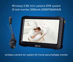Long Transmission Range Small Size 5.8g Wireless Camera with DVR Recorder (5 inch LCD Screen, 3200mAh, Support 32GB Memory) pictures & photos