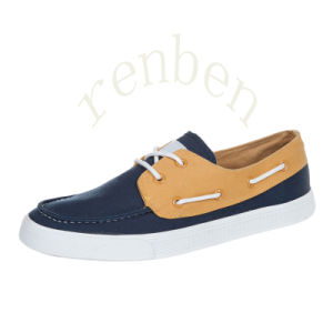 2017 New Sale Comfortable Men′s Casual Canvas Shoes pictures & photos