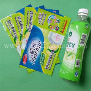 PVC Shrink Sleeve for Juice Bottle pictures & photos
